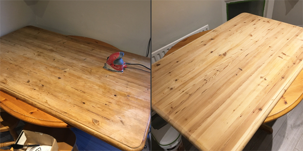 Amazing How To Upcycle A Dining Room Table Paulas Projects Caraccident5 Cool Chair Designs And Ideas Caraccident5Info